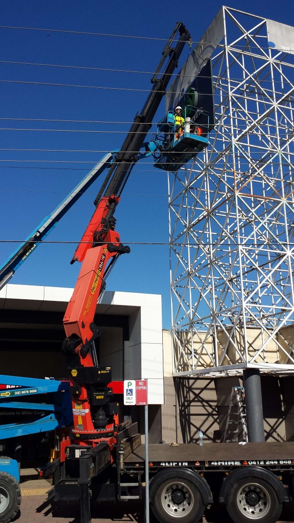 crane hire construction sydney