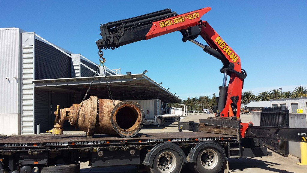 Heavy Loads Lifting Services Sydney