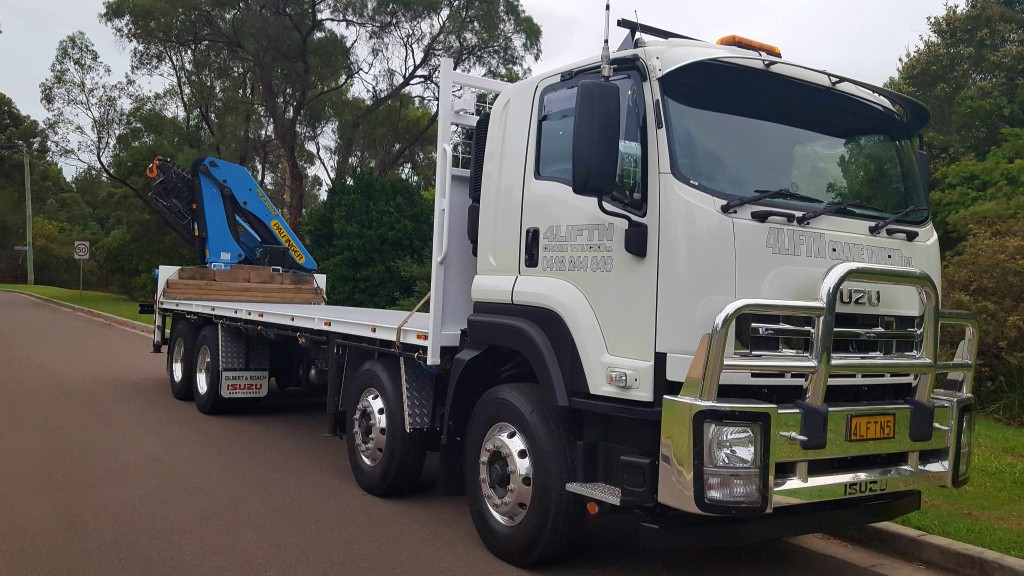 semi trailer trucks hire sydney