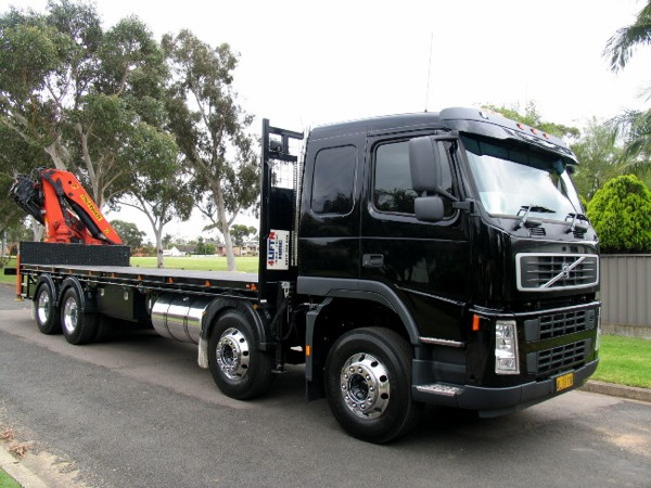 trailer trucks and cranes hire sydney